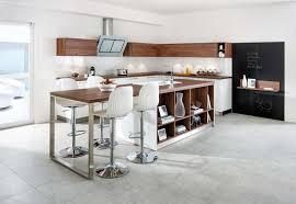 bar ilot cuisine bar ilot cuisine superb exemple de cuisine avec ilot central