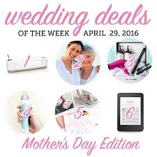 wedding deals wedding deals april 29 2016 the budget savvy