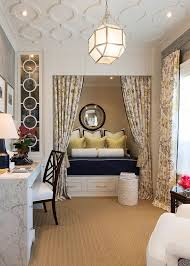 25 versatile home offices that double as gorgeous guest rooms traditional home office turned into a gorgeous guestroom design robert frank carolyn reyes