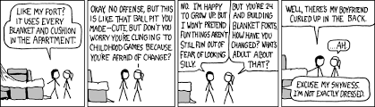 Blanket Fort Meme - index of pub image comic xkcd