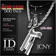mens engraved necklaces second marketplace jcny renegade dog tag id