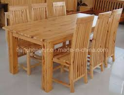 pine dining room table home interior design ideas