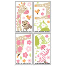Monkey Nursery Decals Carter U0027s Jungle Collection Wall Decals Toys