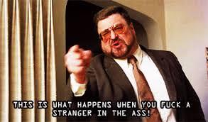 Walter Big Lebowski Meme - angry the big lebowski gif find share on giphy