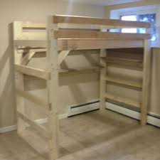 2x4 Bunk Beds The Manhattan All Sizes Solid Wood Loft Bed Loft Beds