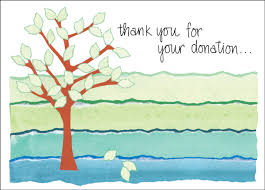 charity card donation thank you cards order thank you notes
