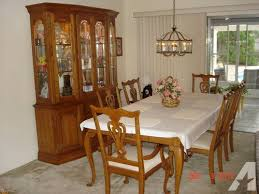 kincaid dining room sets kincaid solid oak formal dining room set for sale in largo