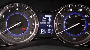 2016 infiniti qx80 parking brake and indicator youtube