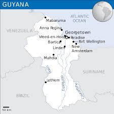Guyana Map File Guyana Location Map 2013 Guy Unocha Svg Wikimedia