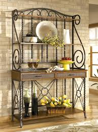 Bakers Rack Console Sleek Designer Bakers Racks Furniture Bakers Rack