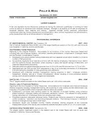 Sample Recruiter Resume by Human Resource Resume Summary Of Qualifications Virtren Com
