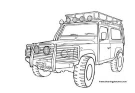 4x4 31 transportation u2013 printable coloring pages