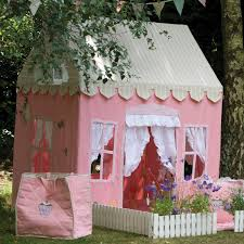 Playhouse Dwell Com by Gingerbread Cottage Playhouse Pink Indoor Fabric Playhouse