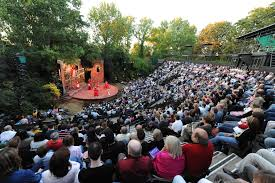regent s park open air theatre in the city of westminster
