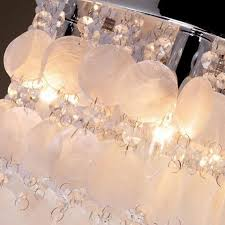 shell ceiling light brief nordic nature shell ceiling l dia 40cm diy decorative