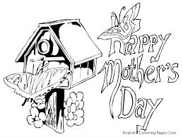 happy mothers day coloring pages realistic coloring pages