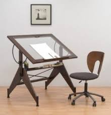 Drafting Table And Chair Set Glass Drafting Tables Foter