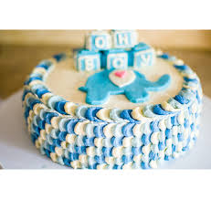 blue baby shower cake toppers archives baby shower diy cake