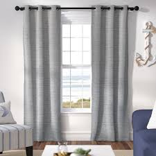 Blackout Curtain Panels With Grommets Highland Dunes Jaylah Solid Room Blackout Grommet Curtain Panels