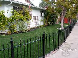 Curved Trellis Fence Panels Installing Wrought Iron Fence Panels Around A Radius Curved Or
