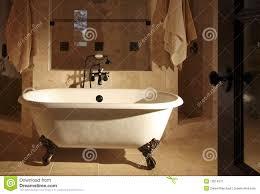 Claw Feet For Bathtub Retro Claw Foot Bathroom Tub Stock Image Image 10014071