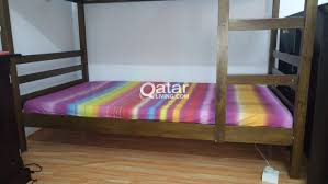 Double Deck Bed Bunk Bed Double Deck Bed Qatar Living