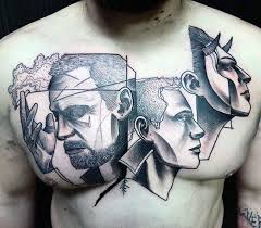 70 cool chest tattoos for masculine ink design ideas