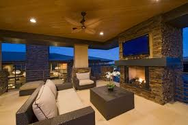 Outdoor Enclosed Rooms - 25 cozy living rooms with fireplaces