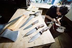 old kitchen knives city axes 19 year old auburn man u0027s knife business lewiston sun