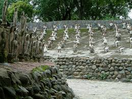 the amazing rock garden of chandigarh eco arts