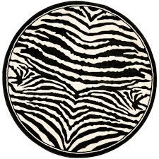 la rug fun time shape soccerball black and white 39 in round area