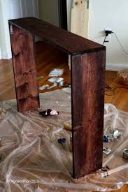 best 25 diy sofa table ideas on pinterest behind couch table