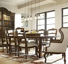 sonoma vintage brown extending dining table 108