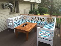 Diy Patio Coffee Table Ana White Patio Table With Built In Beer Wine Coolers Diy Projects