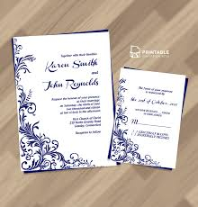 wedding invitations and rsvp free pdf wedding invitation foliage borders invitation