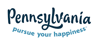 Pennsylvania travel words images Pa_logo_pursue_happiness png png