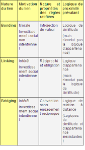 nature et d ouverte si e social des liens sociaux à la construction d un développement territorial