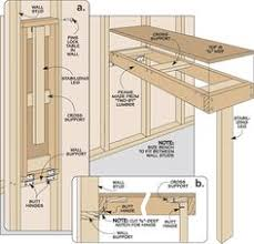 wall mounted folding workbench the wood whisperer building