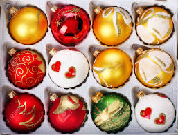 delicate polish glass christmas ornaments stock photo picture and