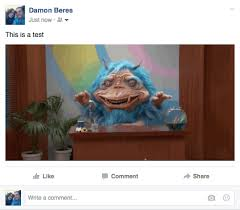 How To Post Memes In Comments On Facebook - how to post an animated gif on facebook huffpost