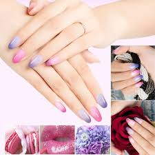 mixcoco temperature change color uv gel nail polish nail art
