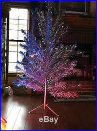 vintage silver glow 6 foot aluminum tree with penetray