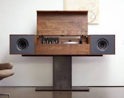 bar modern record console amazing modern console cabinet modern