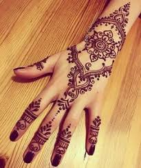 20 best white henna designs finger small