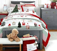 Embroidered Bedding Sets Christmas Decoration Christmas Embroidered Quilt Cotton Delicate