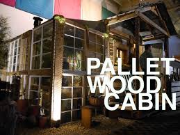 a pallet wood potting shed potential for a tiny house or cabin