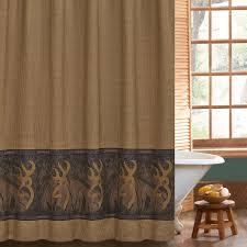 browning oak tree buckmark shower curtain free shipping