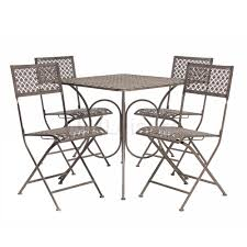Ebay Patio Furniture Sets by Fine Metal Patio Table And Chairs Patio Design 383