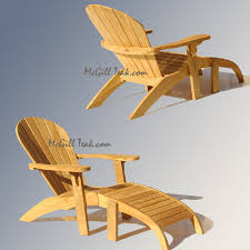Adirondack Patio Chair Outdoor Chair Adirondack With Ottoman Stackable Lounge
