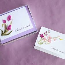 thank you cards box set archives quilling card